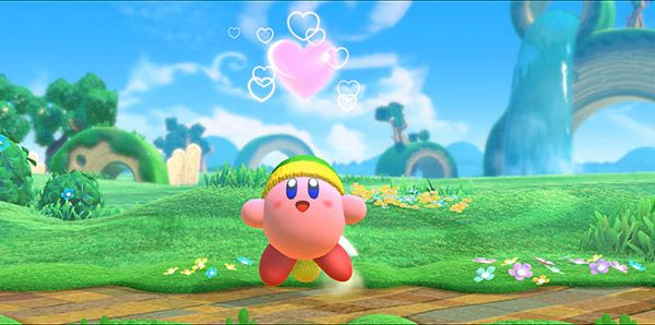 Happy Kirby Star Allies