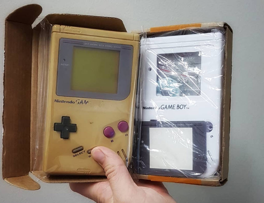 Refurbish Game Boy White Gameboy