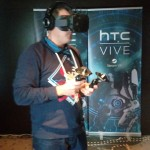 ik met vive VR pre-production