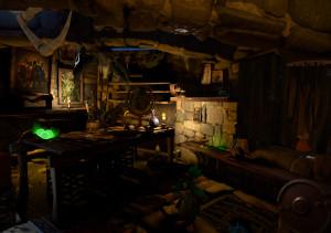 Dota's secret shop VR