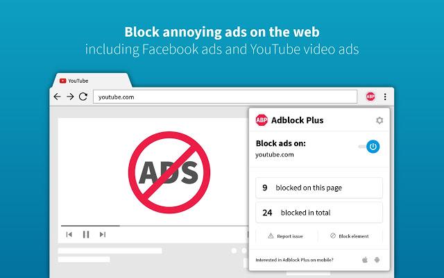 blokkeer advertenties