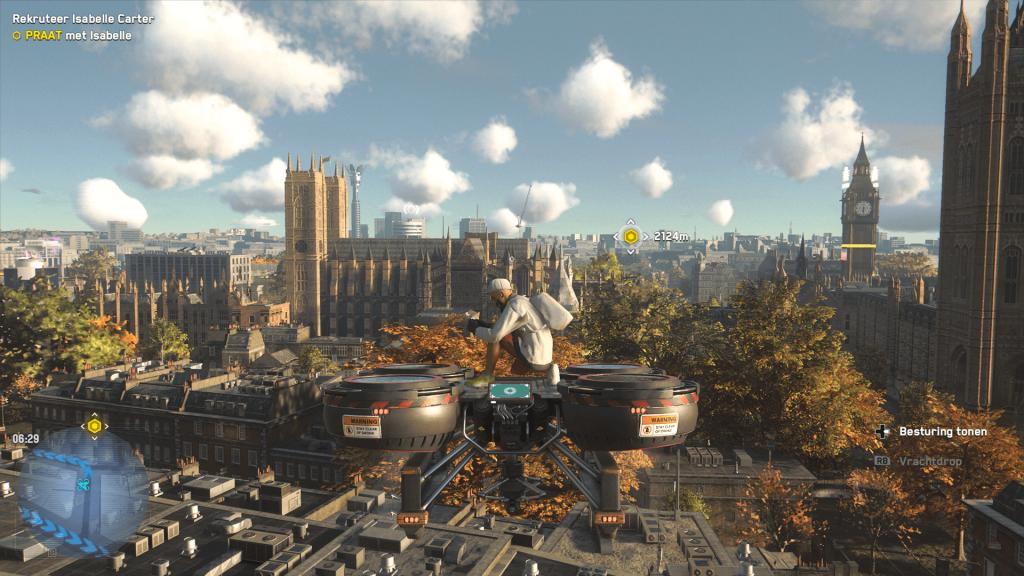Zoals vaker met Ubisoft games worden kaarten opgedeeld in gebieden. Dat is bij Watch Dogs Legion met Londen ook gedaan.