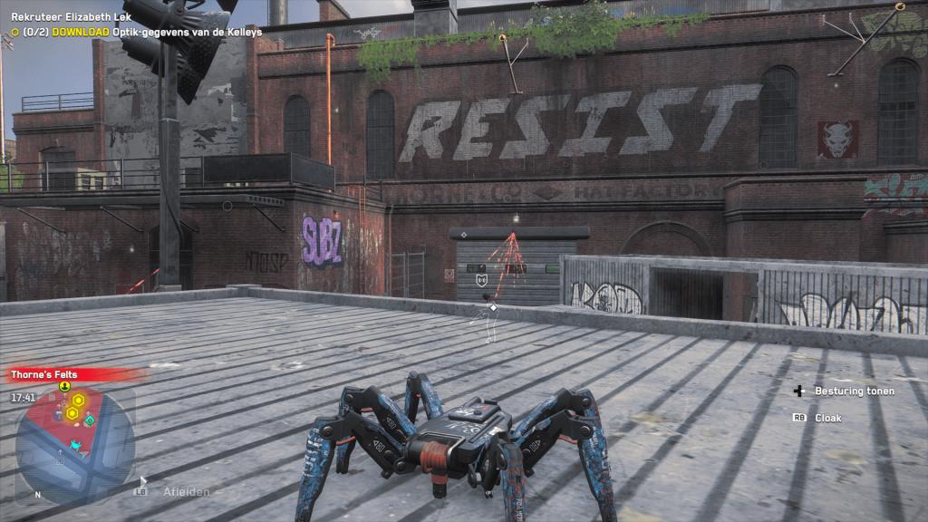 De spindrone is een van mijn favoriete gadgets!